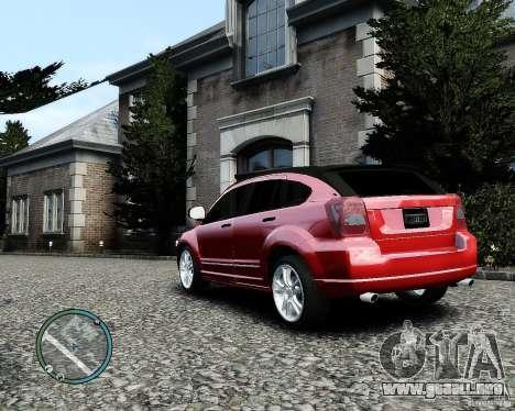 Dodge Caliber para GTA 4 vista desde abajo