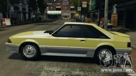 Ford Mustang GT 1993 v1.1 para GTA 4 left