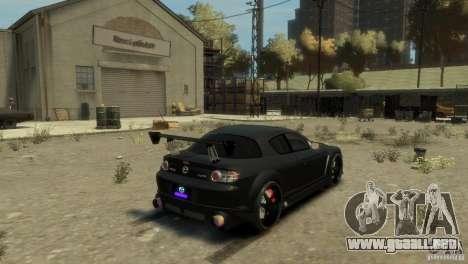 MAZDA RX8 para GTA 4 left