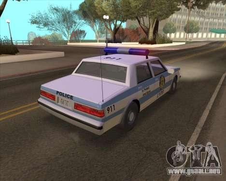 Updated LVPD para la visión correcta GTA San Andreas