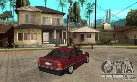 Opel Omega A para la visión correcta GTA San Andreas