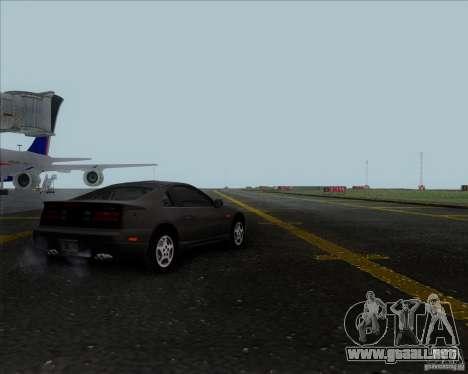 Nissan 300ZX para GTA San Andreas vista posterior izquierda