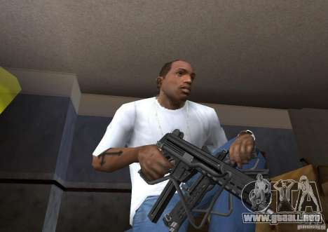 Weapon Pack by viter para GTA San Andreas sucesivamente de pantalla
