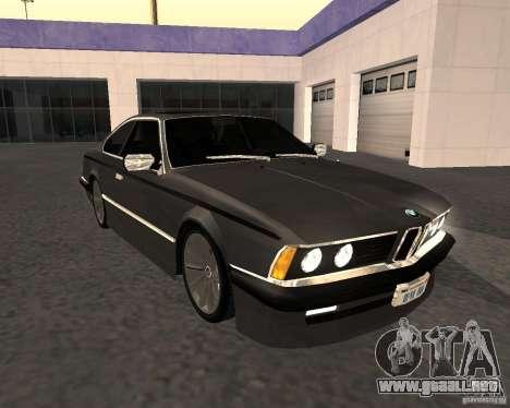 BMW M6 E24 para GTA San Andreas