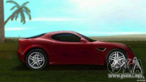 Alfa Romeo 8C para GTA Vice City left