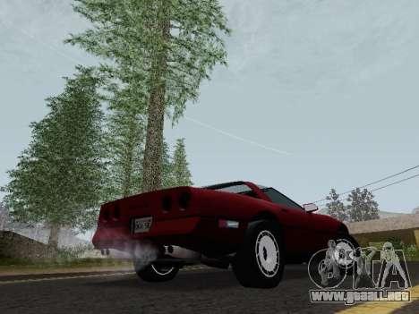 Chevrolet Corvette C4 1984 para la visión correcta GTA San Andreas
