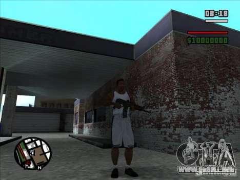 AK-74 (sin stock) para GTA San Andreas segunda pantalla