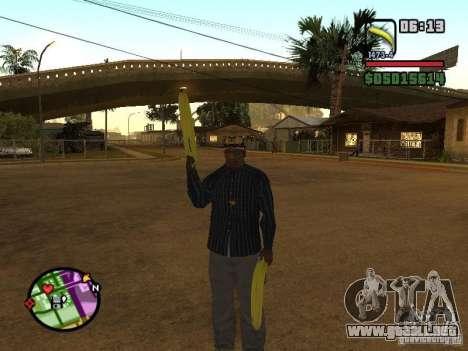 Bunana Gun para GTA San Andreas tercera pantalla