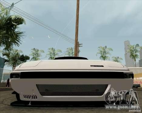 Mazda RX-7 FB Race para visión interna GTA San Andreas