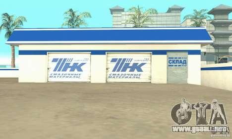 Estación de llenado de TNK para GTA San Andreas tercera pantalla