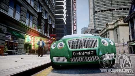 Bentley Continental GT para GTA 4 interior