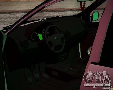 Grant 2190 VAZ para la visión correcta GTA San Andreas