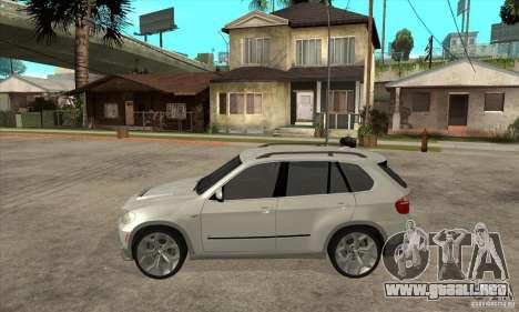 BMW X5 E70 Tuned para GTA San Andreas left