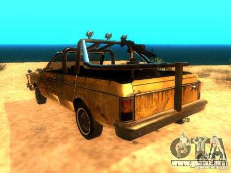 Regina War para GTA San Andreas left