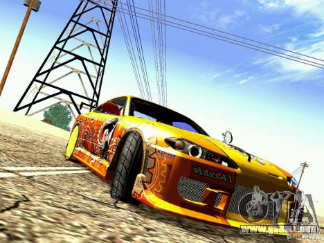 Nissan Silvia S15 Juiced2 HIN para GTA San Andreas left