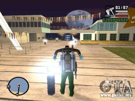 Night moto track V.2 para GTA San Andreas sexta pantalla
