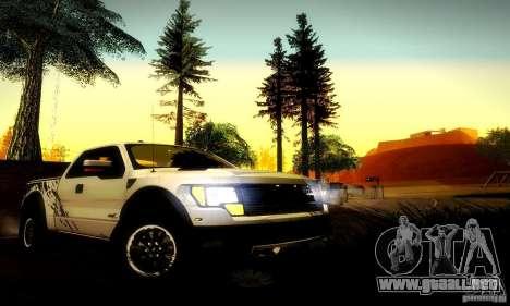 Ford F-150 SVT Raptor V1.0 para la visión correcta GTA San Andreas