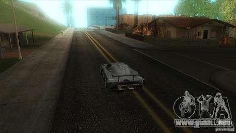 Carretera de calidad en el LS para GTA San Andreas sexta pantalla