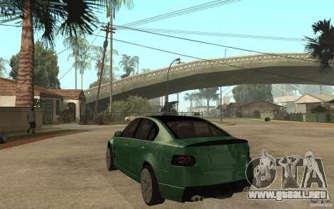 Holden Commodore 2010 para GTA San Andreas