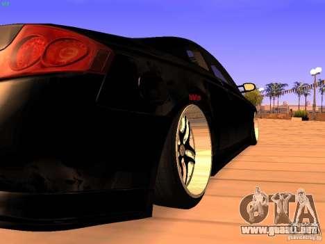 Infiniti G35 V.I.P para la visión correcta GTA San Andreas