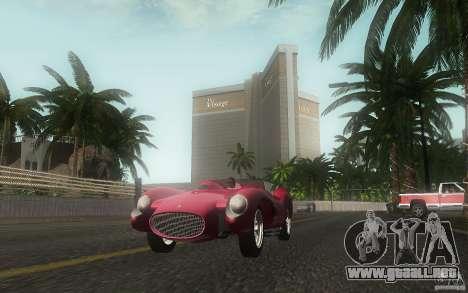 Ferrari 250 Testa Rossa para vista lateral GTA San Andreas