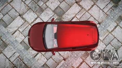 Volkswagen Scirocco 2.0 TSI para GTA 4 visión correcta