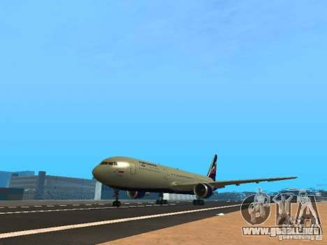 Boeing 767-300 Aeroflot para GTA San Andreas