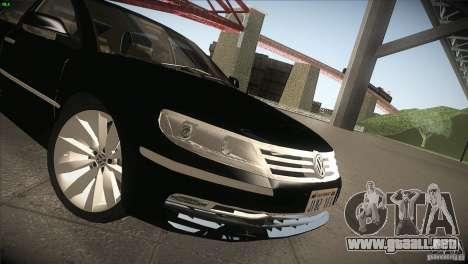 Volkswagen Phaeton W12 para GTA San Andreas