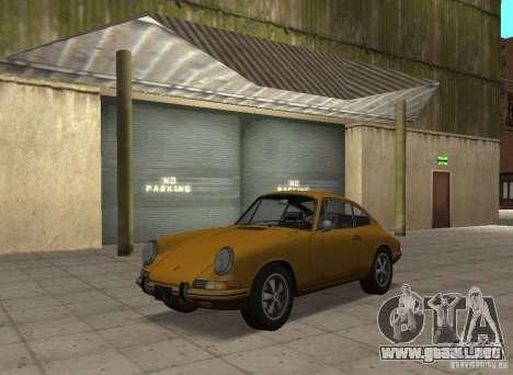 Porsche 911 S para GTA San Andreas vista posterior izquierda