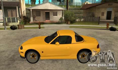 Mazda MX-5 JDM Coupe para GTA San Andreas left