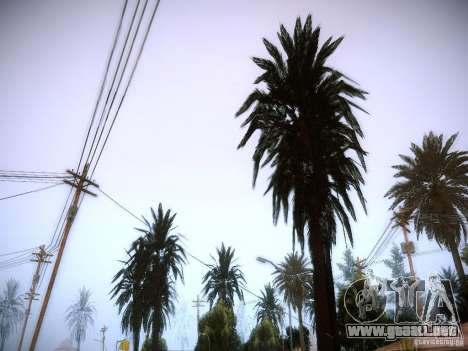 New trees HD para GTA San Andreas tercera pantalla