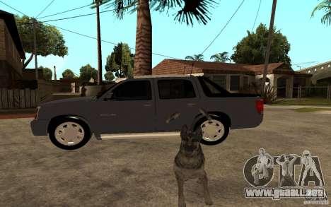 Cadillac Escalade pick up para GTA San Andreas left