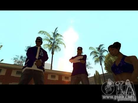 Piru Street Crips para GTA San Andreas novena de pantalla