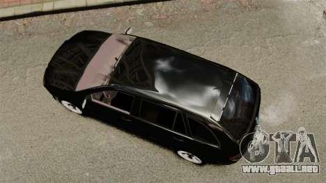Skoda Fabia Combi Unmarked ELS para GTA 4 visión correcta