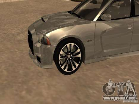 Dodge Charger SRT8 2011 V1.0 para GTA San Andreas left