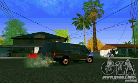 Ford Transit SWB 2011 para la visión correcta GTA San Andreas