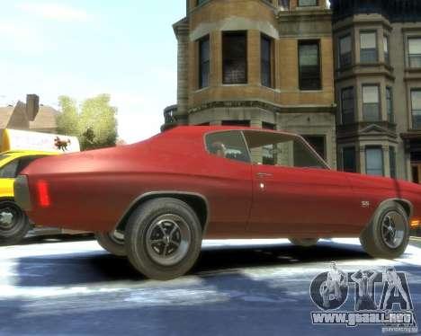 Chevrolet Chevelle SS 454 1970 para GTA 4 visión correcta