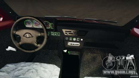 Vaz-21214 Niva (Lada 4 x 4) para GTA 4 vista hacia atrás