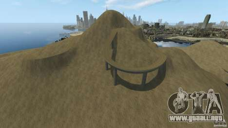 Desert Rally+Boat para GTA 4 adelante de pantalla