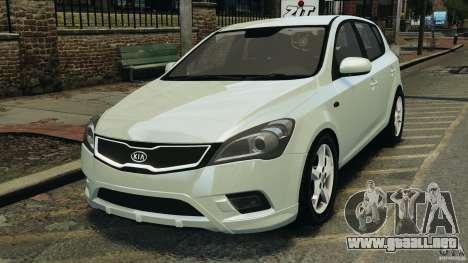 Kia Ceed 2011 para GTA 4