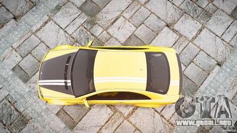 Mercedes Benz CLK63 AMG Black Series 2007 para GTA 4 visión correcta