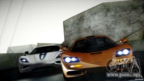 Direct B 2012 v1.1 para GTA San Andreas quinta pantalla