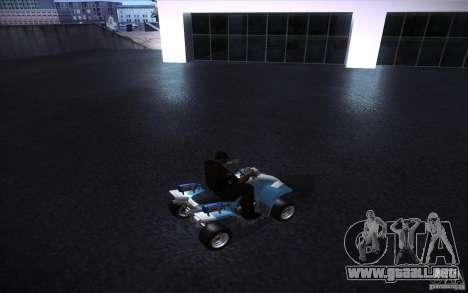 Quad Bike Custom para la visión correcta GTA San Andreas