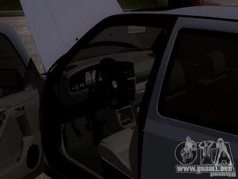 Volkswagen Golf 3 VR6 para GTA San Andreas vista hacia atrás