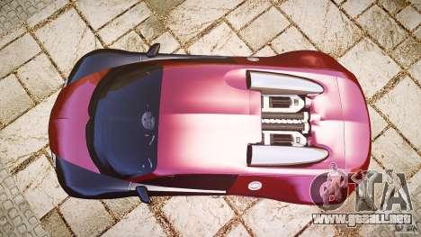 Bugatti Veyron 16.4 v3.0 2005 [EPM] Machiavelli para GTA 4 visión correcta