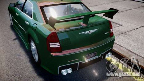Chrysler 300C SRT8 Tuning para GTA 4 ruedas