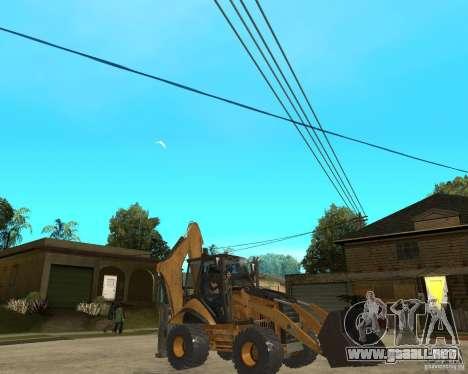 Lastik Tekerli Dozer para la visión correcta GTA San Andreas