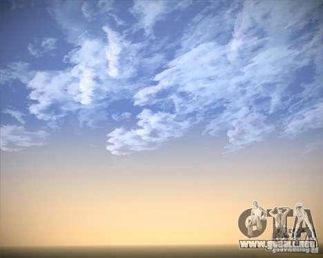 Real Clouds HD para GTA San Andreas