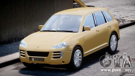 Porsche Cayenne S 2008 para GTA 4