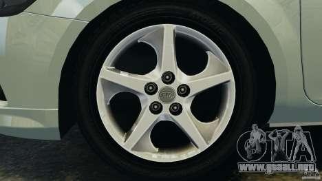 Kia Ceed 2011 para GTA 4 vista interior